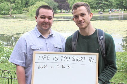 Life is Too Short. 2013. Performance. 3 hours. London.
