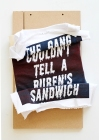 The Gang Who Couldn't Tell A Rubens From A Sandwich. 2016. timber and screen-printed T-shirt. 45cm x 25cm x 10cm.