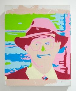 Incomplete Harmony (#1). 2016. Oil & acrylic on canvas. 25cm x 20cm x 5cm.