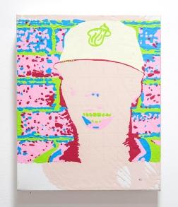 Incomplete Harmony (#3). 2016. Oil & acrylic on canvas. 25cm x 20cm x 5cm.
