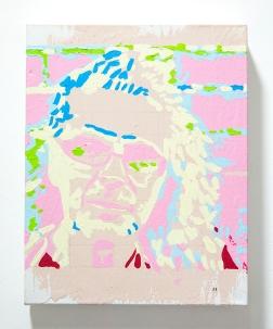 Incomplete Harmony (#4). 2016. Oil & acrylic on canvas. 25cm x 20cm x 5cm.